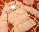 Куртка на весну пудровая
