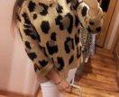Джемпер леопард