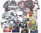 Стикеры наклейки Звездные войны 25шт