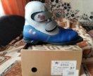 Новые лыжные ботинки 37р-р!