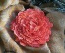 Брошь цветок