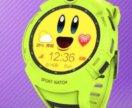Часы gps watch q360 wi-fi green