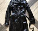 Продам как Новый кожаный плащ тренч XS размер