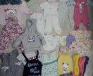 Детские вещи на девочку 0-12мес