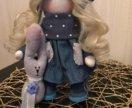 кукла текстильная тильда🍀