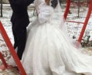 Длинная свадебная фата (испанка)