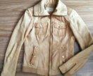 Куртка кожаная женская Bershka