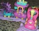 Железная дорога с поездом My Little Pony