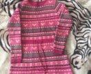 Платье тёплое для девочки