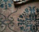 Портьеры на широкой ленте с подгибом блэкаут