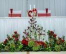 Украшение залов на свадьбу, декор, цветы.