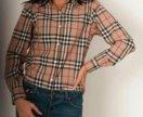 Обмен.Рубашка burberry женская M/L