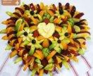 Оформляю букеты из фруктов на свадьбы и юбилеи