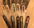 Пилки стеклянные  с кристаллами Сваровски