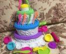 Play doh Праздничный торт