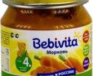 Детское питание пюре bebivita