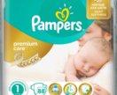 Памперс Premium Care 1