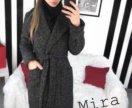 Новое стильное пальто букле