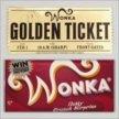 Шоколад Wilka Wonka с золотым билетом