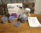 Молокоотсос avent с системой хранения молока
