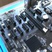 Материнская плата для майнинга на 12 GPU