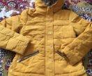 Куртка горчичного цвета