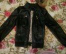 Кажаная куртка весенняя
