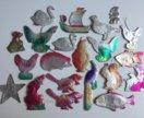 Картонные елочные игрушки СССР картонаж