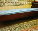 Кровать полированная полутороспальная