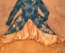 Платье нарядное в палетки детское