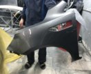 Крыло левое Kia Rio серый металлик SAE
