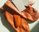 Варежки новые кожаные Cos