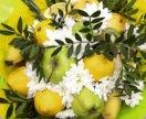 Вкусные , оригинальные букеты .Из фруктов и овощей