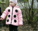Куртка ,,божья коровка,, весна на 2-3 г