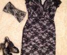 Вечернее платье 48 р-р