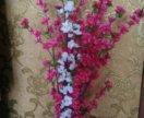 Цветы искусственные сакура