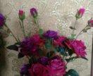 Ветка розы 100см
