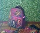 Рюкзак+мешок для обуви+косметичка