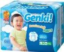 Подгузники-трусики детские Nepia Genki!