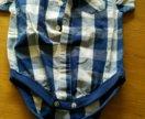 Рубашка - боди на мальчика