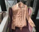 Блуза-комбедрес из натурального шелка