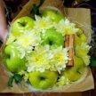 Оригинальные букеты из фруктов,овощей,сладостей