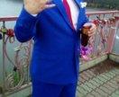 Костюм одевался один раз на свадьбу.