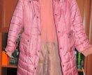 Пальто на двойном синтепоне для девочки