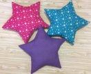Подушка-звезда для детской комнаты