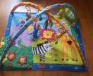Детский коврик Tiny love зоопарк