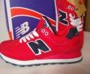 Новые кроссовки красные new balance (36-41)