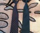 2 галстука+бабочка