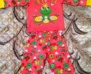 Костюм- пижама новая на 2 года