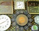 Часы механические и электронные наручные настенные